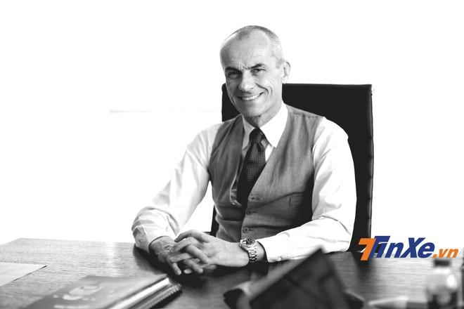 Ông Gianluca Fumie - Chủ tịch kiêm tổng giám đốc Piaggio Việt Nam.