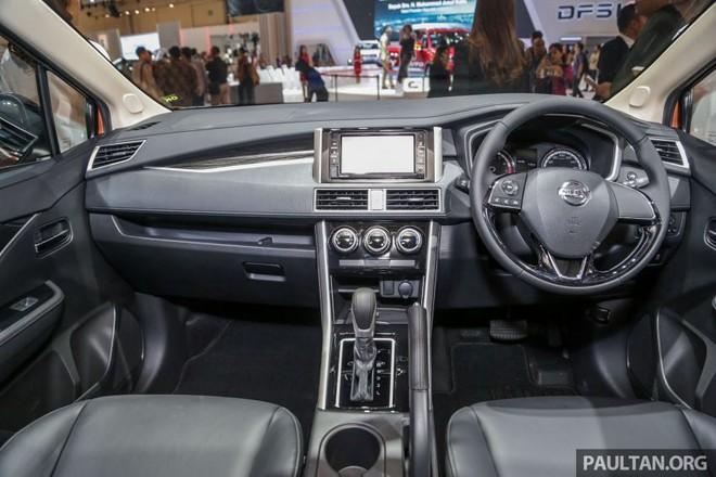 Nội thất của Nissan Livina 2019 có nhiều nét tương đồng với Mitsubishi Xpander