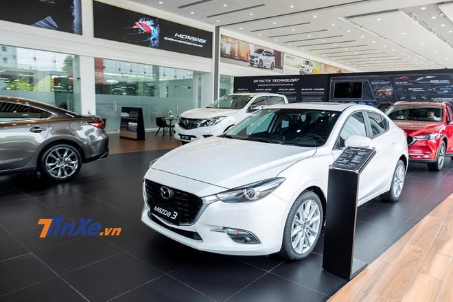 Vượt mốc 50.000 xe bán ra thị trường Việt, THACO Trường Hải tung ưu đãi cho Mazda3 tới 70 triệu đồng