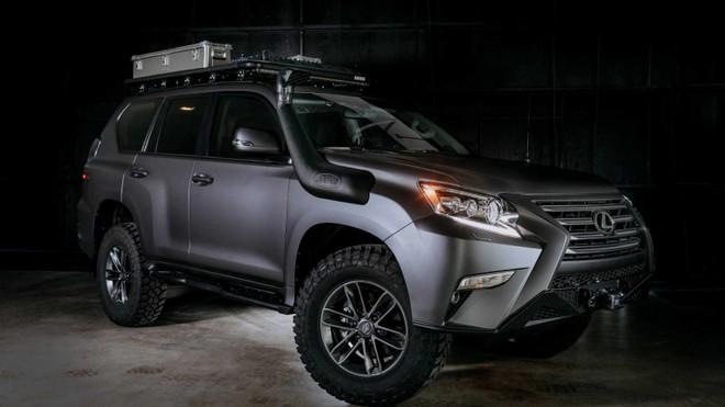 Lexus GX Off-Road Concept tập trung nâng cao khía cạnh đi địa hình với những món trang bị mới