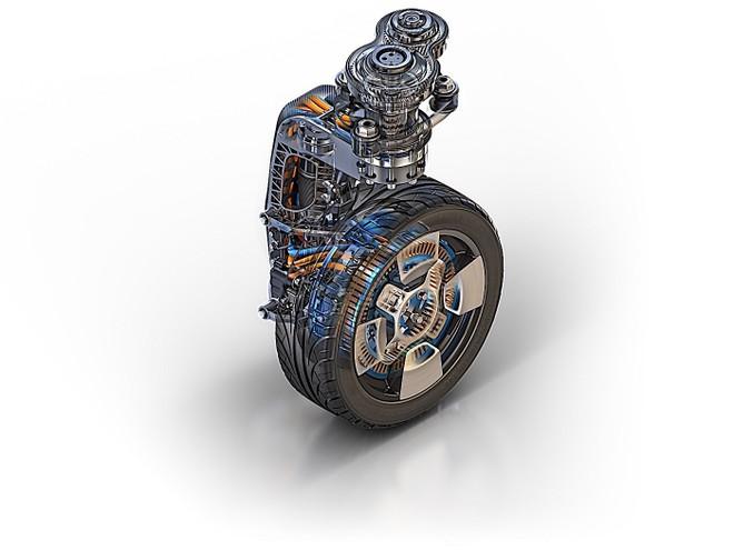 Công nghệ bánh xe Protean360+ có thể tự lái và quay 360 độ
