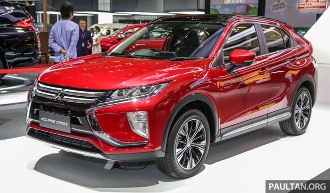 Mitsubishi Eclipse Cross ra mắt Indonesia trong triển lãm GIIAS 2019
