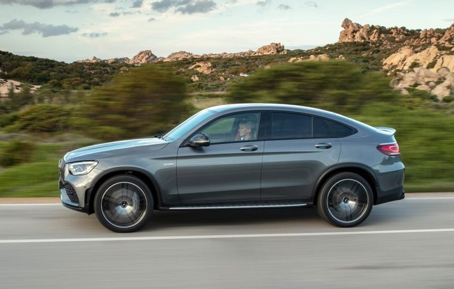 Mercedes-AMG GLC43 Coupe 2020