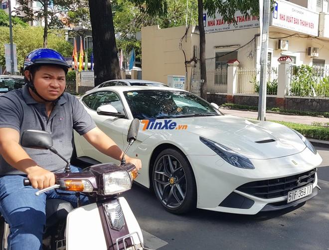 Ferrari F12 Berlinetta của Phan Thành có giá hơn 21 tỷ đồng