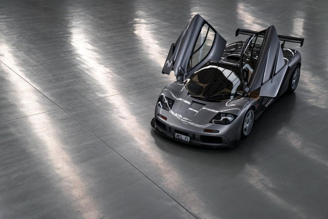 vẻ đẹp của siêu xe McLaren F1 LM Spec