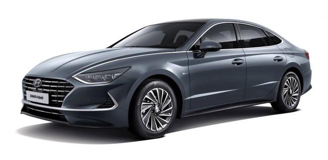Hyundai Sonata Hybrid 2020 trình làng