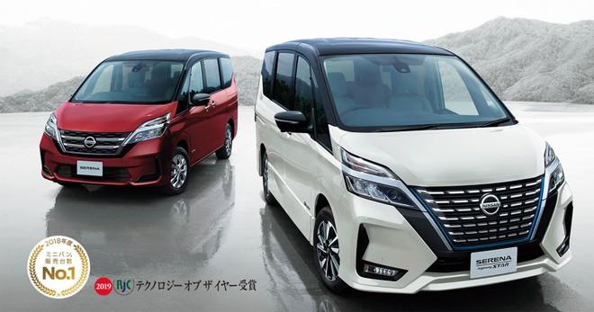 Nissan Serena 2019 với 2 thiết kế đầu xe khác nhau