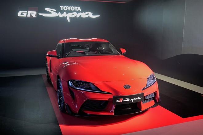 Toyota GR Supra 2020 ra mắt nhà giàu Hồng Kông