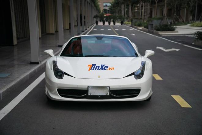 Đây là chiếc Ferrari 458 Spider thứ 2 có tại Việt Nam