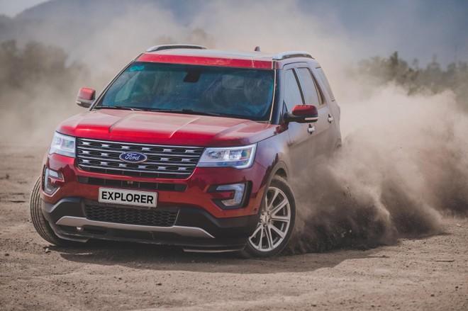 Lượng xe về ít khiến Ford Explorer thường xuyên nằm trong tình trạng khan hàng