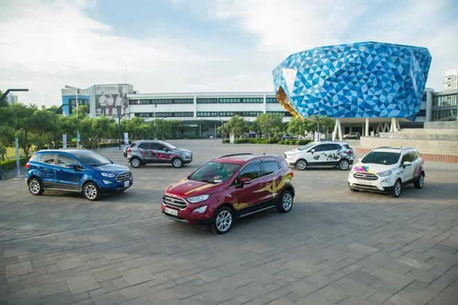 Dù chưa có đủ khả năng cạnh tranh quay trở lại vị trí số 1 phân khúc nhưng Ford EcoSport vẫn có sức bán kha tốt khi doanh số hàng tháng trung bình đạt 400 xe