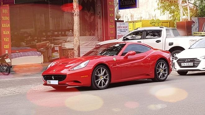 Tại Việt Nam chỉ có 4 chiếc Ferrari California được đưa về nước