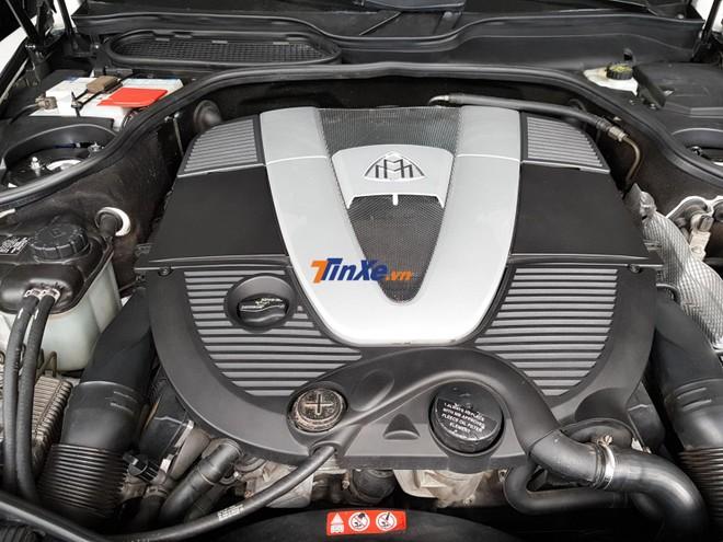 Maybach 57S được trang bị khối động cơ V12