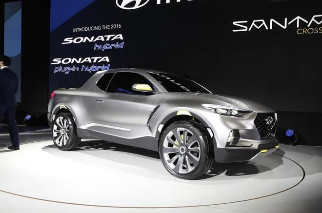 Mẫu xe bán tải vừa làm vừa chơi Hyundai Santa Cruz