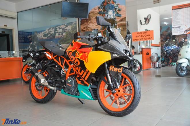 KTM RC 390 phiên bản MotoGP Edition 2019 được chào bán với mức giá 151 triệu đồng