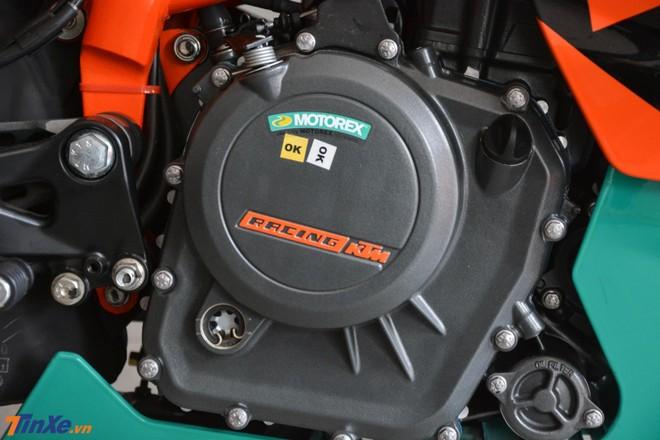 Động cơ của KTM RC 390 phiên bản MotoGP Edition 2019 không có gì thay đổi