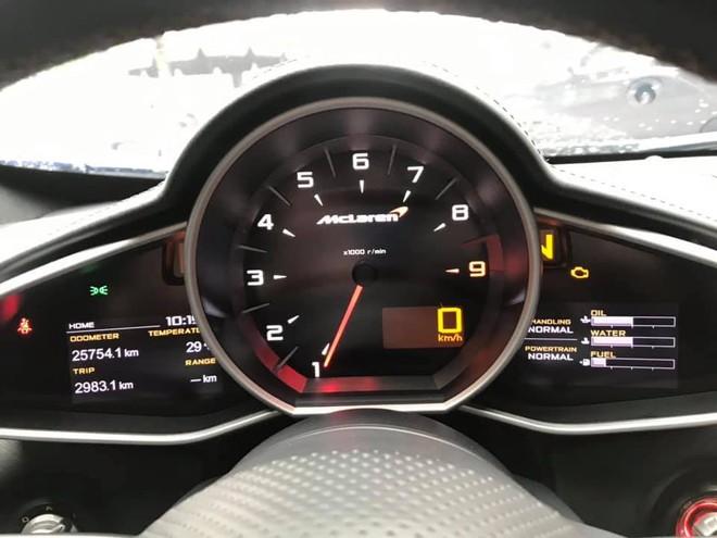 Chiếc McLaren 650S Spider đã lăn bánh hơn 25.000 km