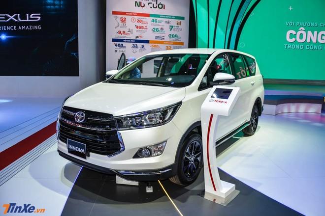 Toyota Innova hiện đang có mức giảm 40 – 60 triệu đồng tại đại lý