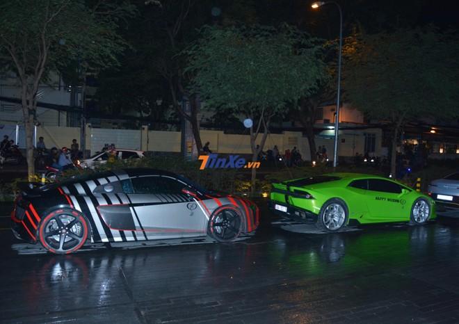 Siêu xe Audi R8 V10 Plus của Cường Đô-la được trang bị khối động cơ V10, dung tích 5.2 lít
