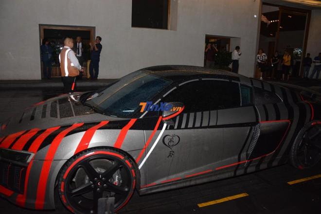 Siêu xe Audi R8 V10 PLus của Cường Đô-la