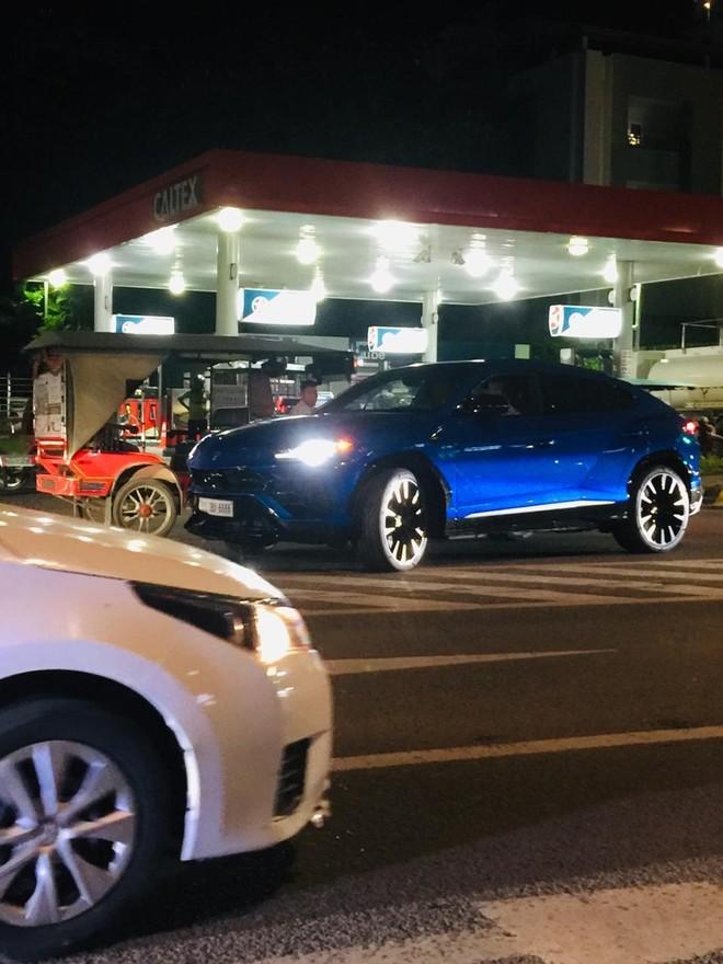 Lamborghini Urus gây tai nạn mang biển tứ quý 6