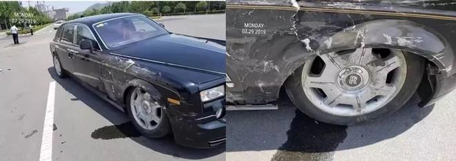 Thiệt hại của chiếc Rolls-Royce Phantom