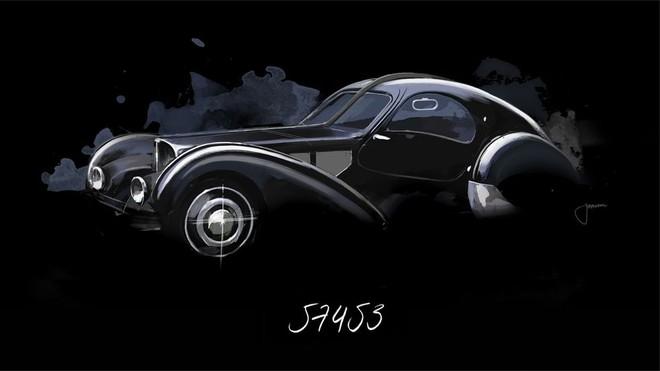 Các mẫu Bugatti Atlantic đã được sản xuất