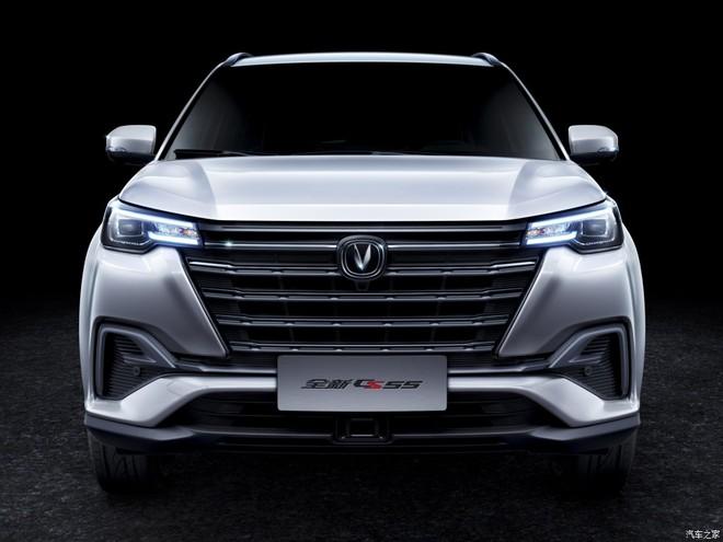 Đầu xe của Changan CS55 2019 với lưới tản nhiệt mới