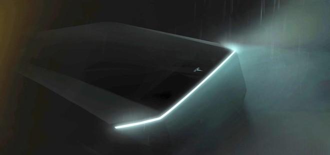 Đây là bức ảnh Tesla hé lộ về mẫu xe bán tải sắp ra mắt của họ