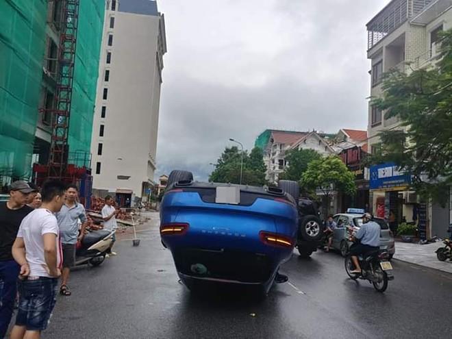 Hiện trường vụ tai nạn của chiếc Porsche Macan