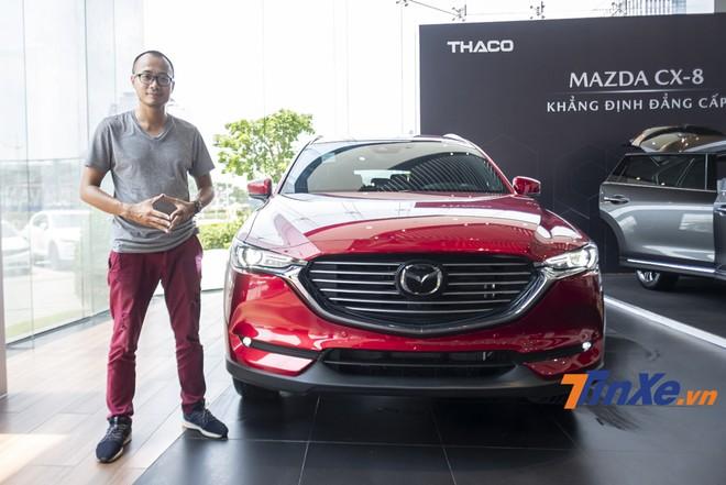 Mazda CX-8 - Mẫu SUV 7 chỗ đầu tiên của Mazda tại thị trường Việt Nam.