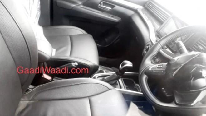 Bản cao cấp của Suzuki XL6 2019 sẽ dùng ghế bọc da sang trọng hơn