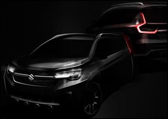 Hình ảnh teaser của Suzuki XL6 2019 sắp ra mắt vào cuối tháng này