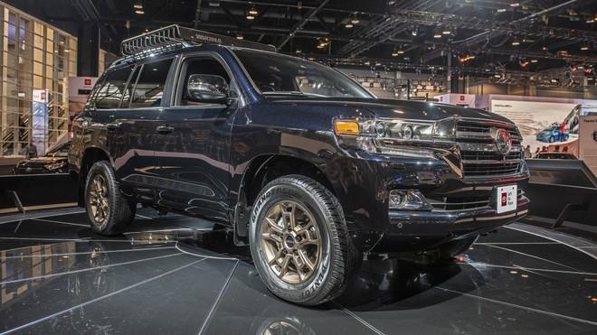 Toyota Land Cruiser Heritage Edition 2020 có giá khá cao tại Mỹ