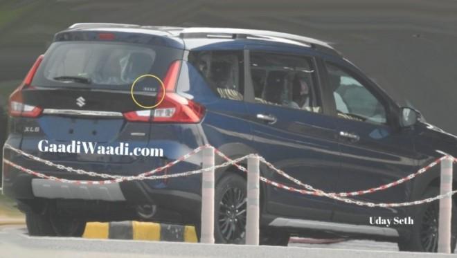Suzuki XL6 2019 bị bắt gặp trên đường thử