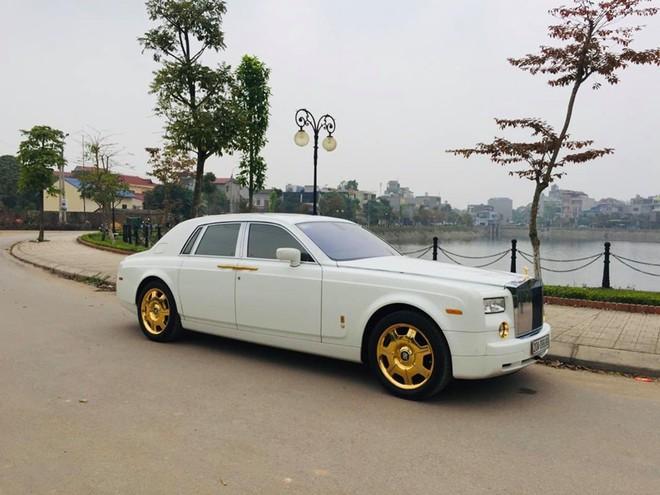Rolls-Royce Phantom mạ vàng ở Thái Nguyên được rao bán 12 tỷ đồng