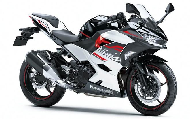 Kawasaki Ninja 250 2020 màu Trắng Đen
