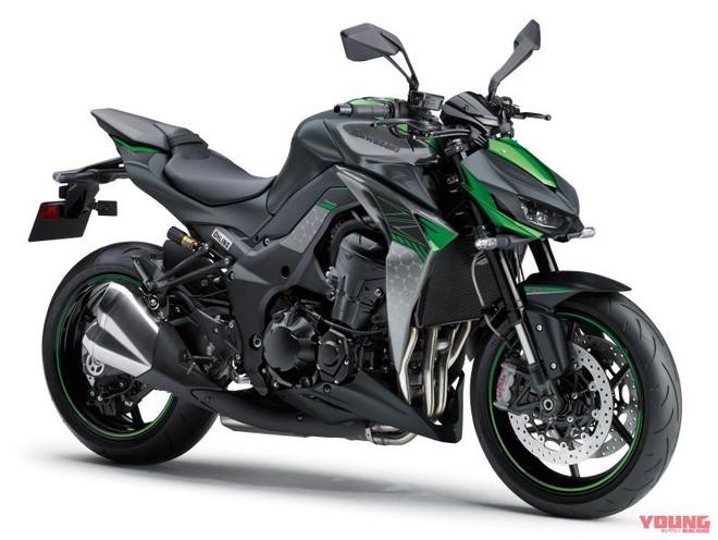 Kawasaki Z1000 2020 được giữ nguyên khối động cơ 4 xy-lanh