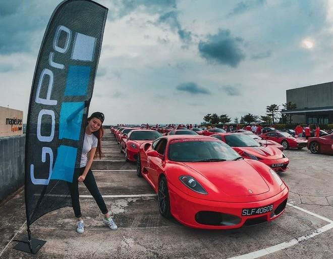 Dàn xe Ferrari F430 đỗ ngay ngắn