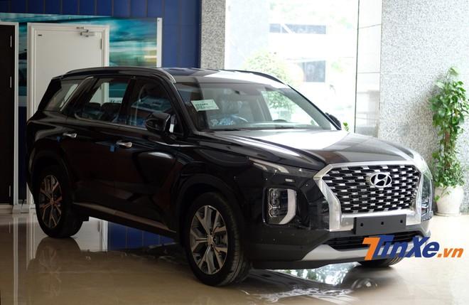 Chiếc Hyundai Palisade 2020 từng được trưng bày tại Hà Nội