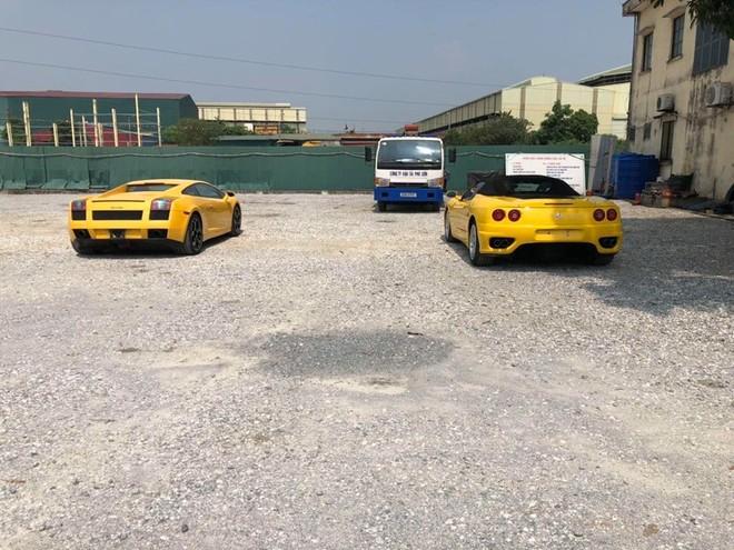 Vẻ đẹp của Lamborghini Gallardo và Ferrari 360 Spider nhìn từ phía sau