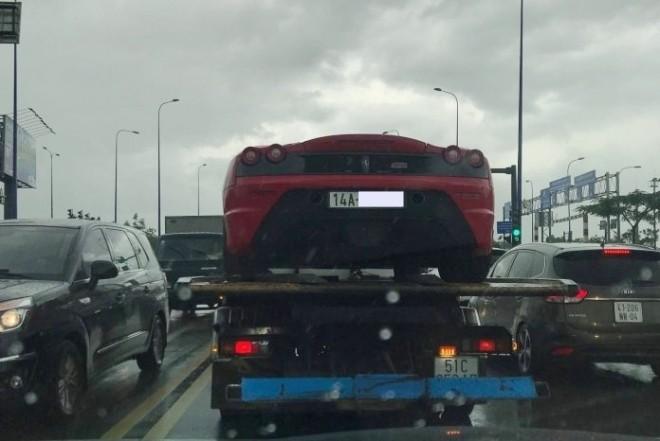"""Ferrari 430 Scuderia từng của Dũng """"mặt sắt"""" bất ngờ xuất hiện ở Sài thành"""