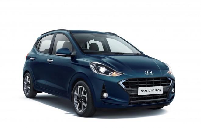Hình ảnh hé lộ thiết kế ngoại thất của Hyundai Grand i10 Nios 2019