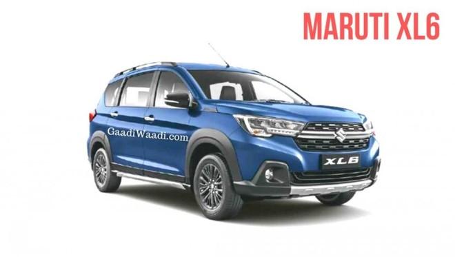 Hình ảnh ngoại thất chính thức bị rò rỉ của Suzuki XL6 2019