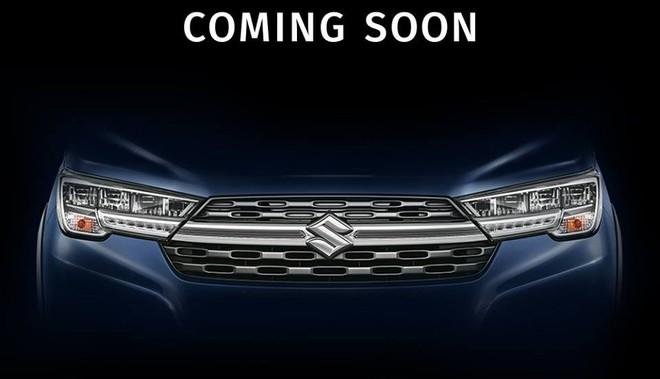 Phần đầu xe của Suzuki XL6 2019 có thiết kế thể thao hơn Ertiga
